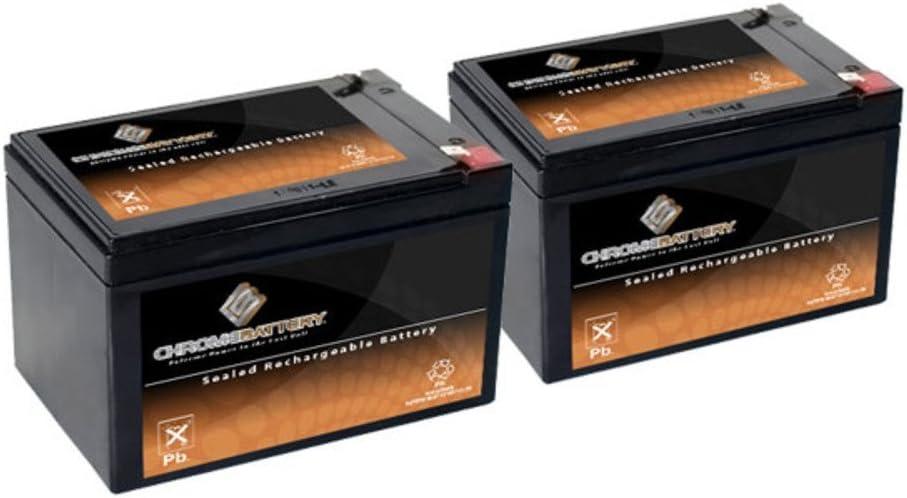 12V 15AH SLA Battery Replaces gp12120 ps-12120 wp12-12 gp12110f2-2PK 61GdTT62THL