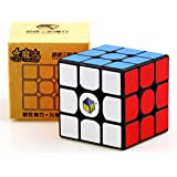 GoodPlay Yuxin Little Magic 3x3 Speed Cube Yuxin 3x3x3 Magic Cube Brain Training Toy Black Puzzle Cube