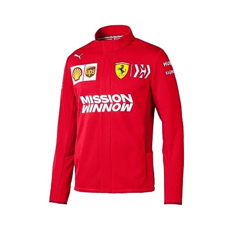 Scuderia Ferrari 2019 F1TM Chaqueta del Equipo Hombre ...