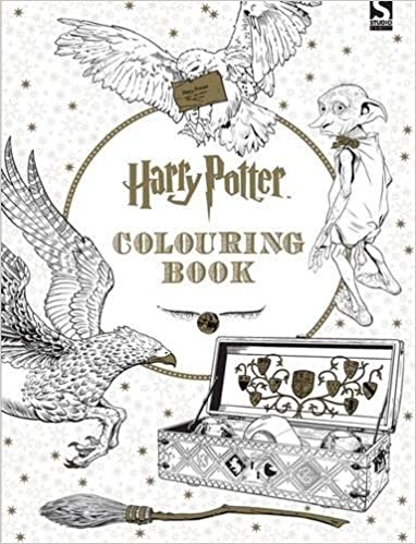 harry potter colouring book 1 amazoncouk warner brothers 9781783705481 books - Pictures Of Colouring
