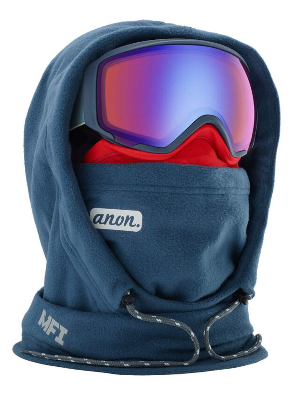 Anon Women's MFI Fleece Helmet Hood Clava, Gray W20 by Anon