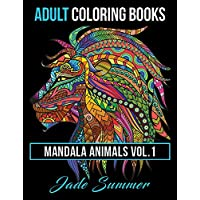 Mandala Animals: Adult Coloring Books: 1