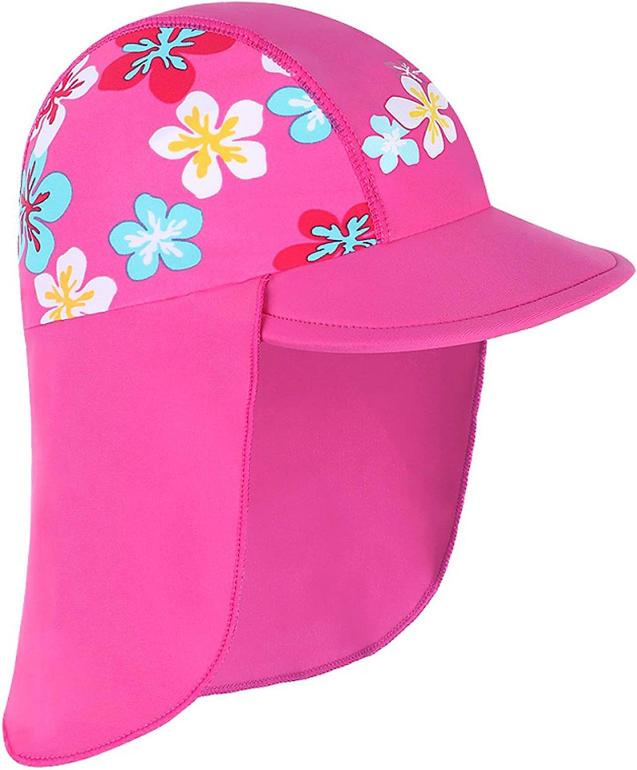 Newest Summer Swimming Cap Children Sun Protection Swim Hats Waterproof Outdoor Sports Beach Hats