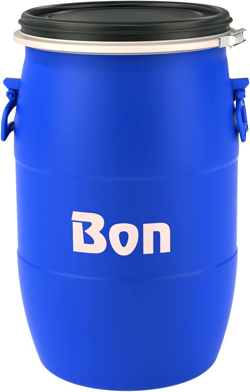 Bon Tool 22-816 Mixing Barrel -15 Gallon Plastic - Bon Blue
