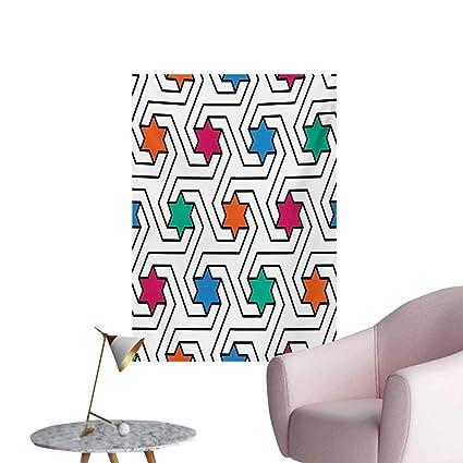 Astounding Amazon Com Anzhutwelve Star Painting Post Colorful Stars On Download Free Architecture Designs Ogrambritishbridgeorg