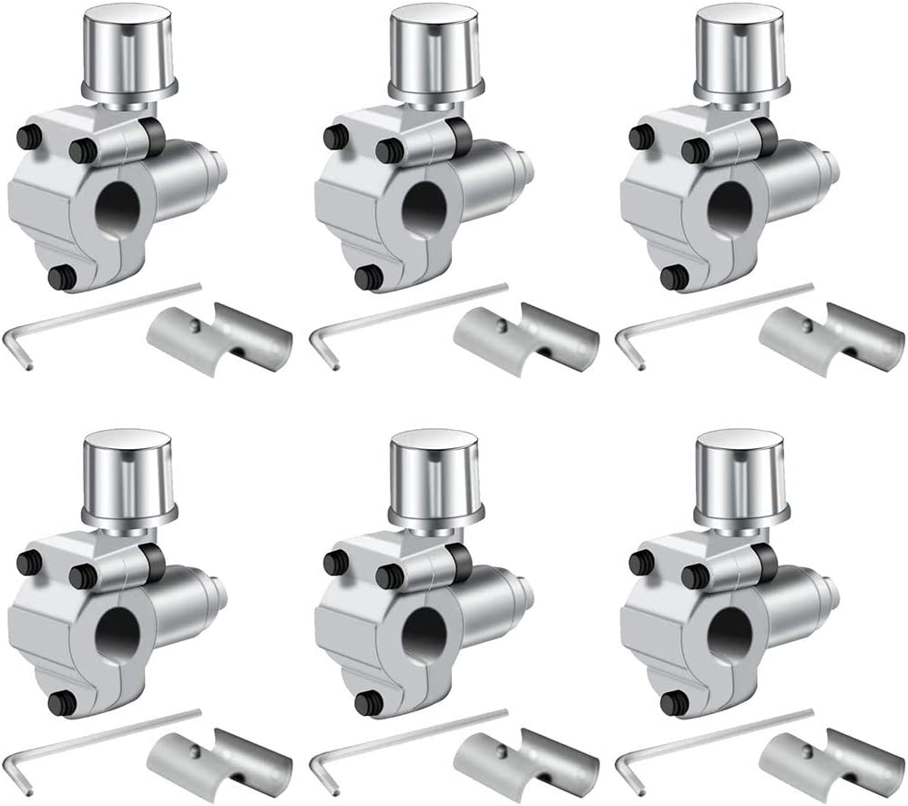 Andifany Paquete de 6 Juegos de V/áLvulas de Grifo de L/íNea de V/áLvula de Perforaci/óN BPV-31 V/áLvula Ajustable para Acondicionadores de Aire HVAC 1//4 Pulgadas 3//8 Pulgadas 5//16 Pulgadas
