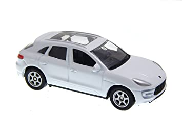 Porsche Macan Turbo White 1:60 Welly