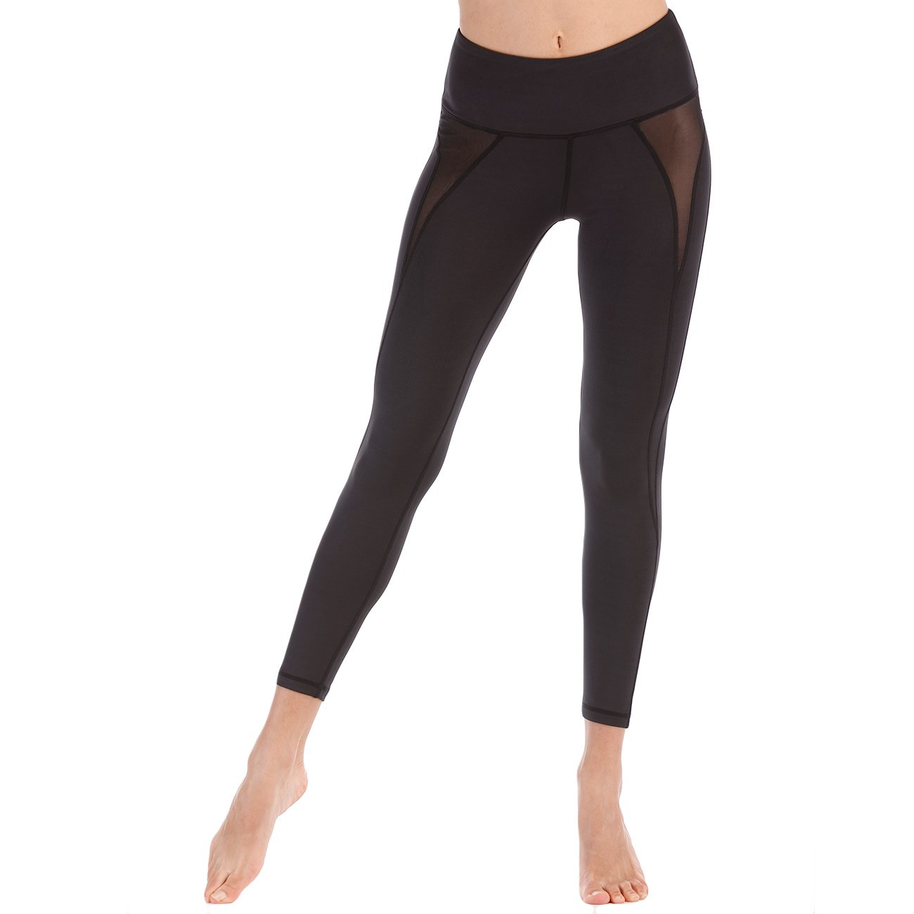 Amazon.com: DYZD Yoga Workout Cropped Pants Health Fitness ...
