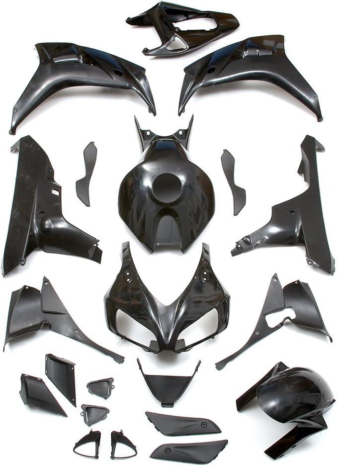 Yana Shiki BKH209BCK Black ABS Plastic Full Body Fairing Kit
