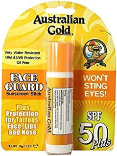 product image for Australian Gold Face Guard Sunscreen Stick SPF 50+ 0.50 oz (Pack of 4)