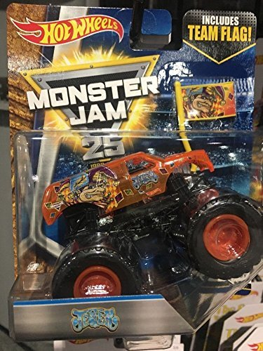 Team Ray Trucks >> 2017 Xray Jester Monster Jam Truck With Team Flag Tour X Ray Body Rare And New