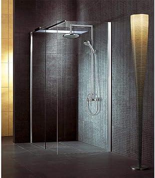 Icrolla columna ducha desviador alcachofa 20 x 20 cm grupo ducha exterior cromado: Amazon.es: Bricolaje y herramientas