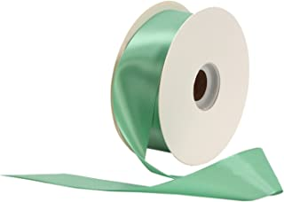 product image for Offray Single Face Satin Craft 3/8-Inch by 100-Yard Ribbon Spool, Peapod
