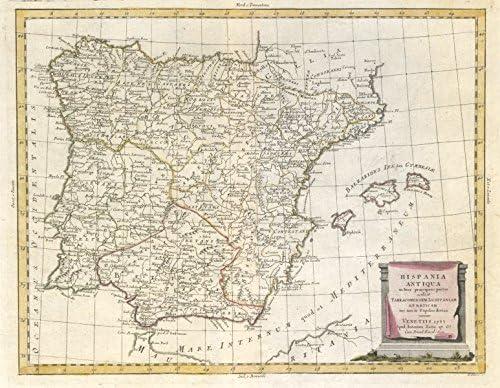 Hispania Antiqua. Anciencia/Iberia Romana. España & Portugal ...