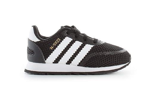 Adidas N-5923 El I, Zapatillas de Deporte Unisex Niño, Negro (Negbás/Ftwbla/Gritre 000), 26.5 EU: Amazon.es: Zapatos y complementos