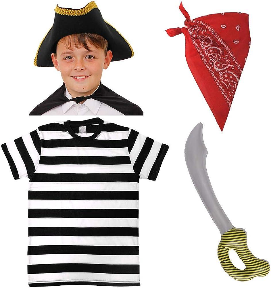 I LOVE FANCY DRESS LTD Juego de accesorios para disfraz de pirata para niños