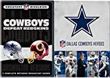 NFL Dallas Cowboys Heroes + COWBOYS DEFEAT REDSKINS: Greatest NFL Rivalries Football DVD & The NFL's Funniest Players