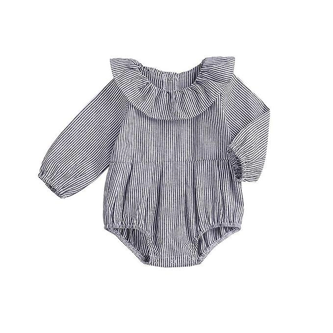 Amazon.com: Zoiuytrg - Mono de manga larga para bebé, niña ...