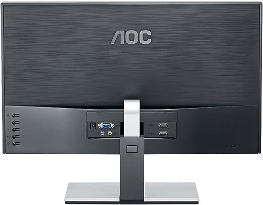 AOC D2367Ph - Monitor LED de 23 (3D, Full HD, 2 x HDMI, VGA), Negro: Amazon.es: Informática