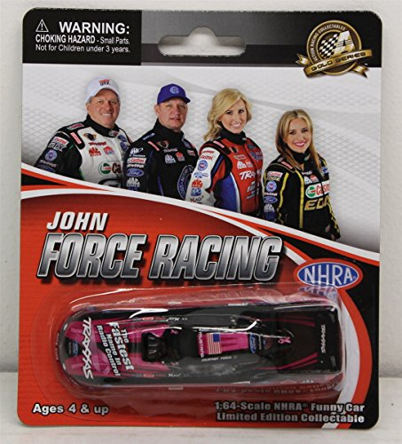 NHRA Courtney Force Traxxas Pink 1/64 Mustang Funny Car 2013