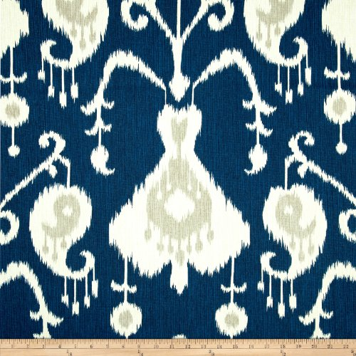 Decor Upholstery Fabric - Magnolia Home Fashions 0342082 Java Navy Fabric by The Yard