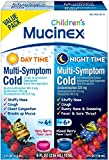 Mucinex Children's Multi-Symptom Day & Night Cold Relief Liquid, 2 x 4 Ounce (Pack of 9)