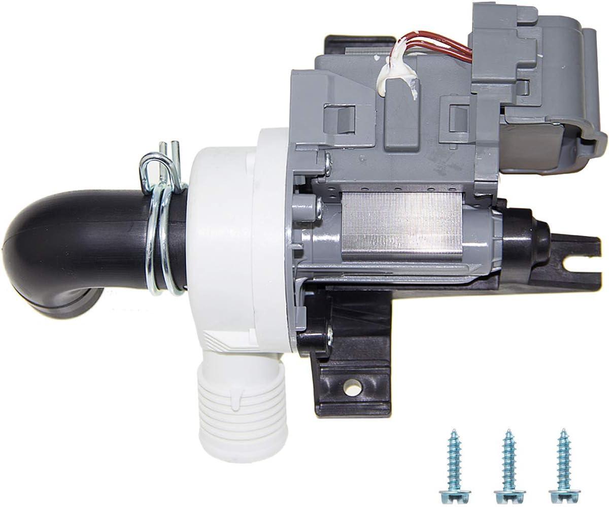 W10536347 Washer Drain Pump for Whirlpool LP36347 W10155921 W10049390 PS5136124 AP5650269 W10217134