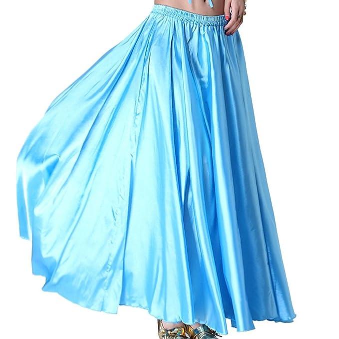 MUNAFIE - Falda - Manga Larga - para Mujer Azul Azul Claro Talla ...