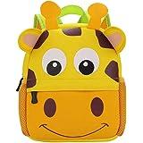 BAIGIO Mochila Infantil Kindergarten,Pequeñas Mochilas Bolsas Escolares de Dibujos Animados Animales para Niñas Primaria…