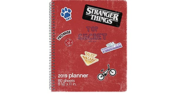 Stranger Things Wkmnthly8.5x11: Amazon.es: Trends ...