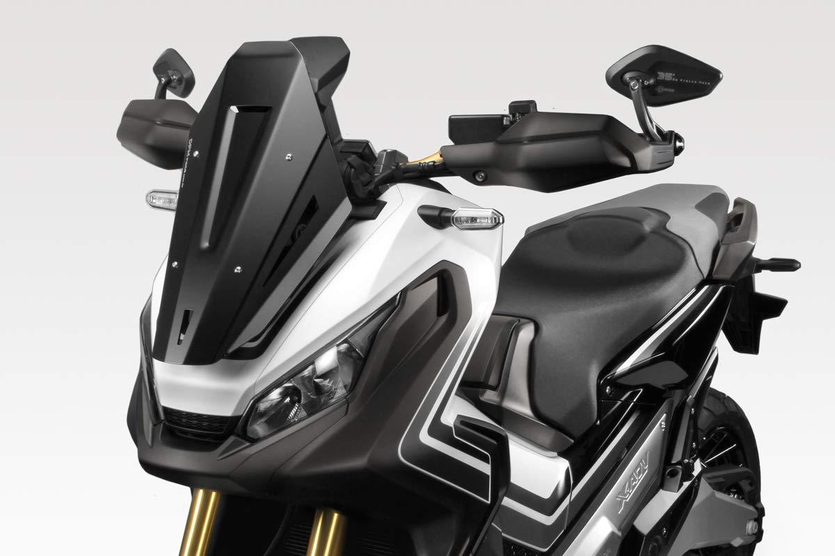 - 100/% Made in Italy DPM Facile Installation Pare Brise Exential - Protection Saut de Vent en Aluminium XADV 2017//19 Accessoires De Pretto Moto R-0825