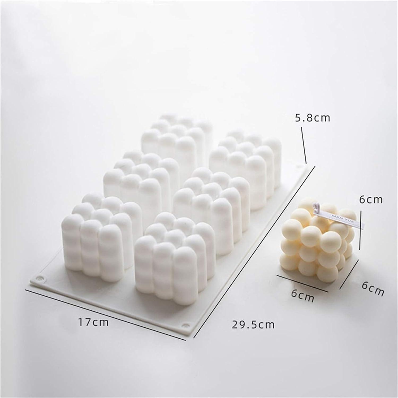des desserts des g/âteaux du cheesecake ou de la bougie. WINGDE Moules en silicone /à 6 cavit/és pour faire de la mousse de la truffe du pudding de la gel/ée