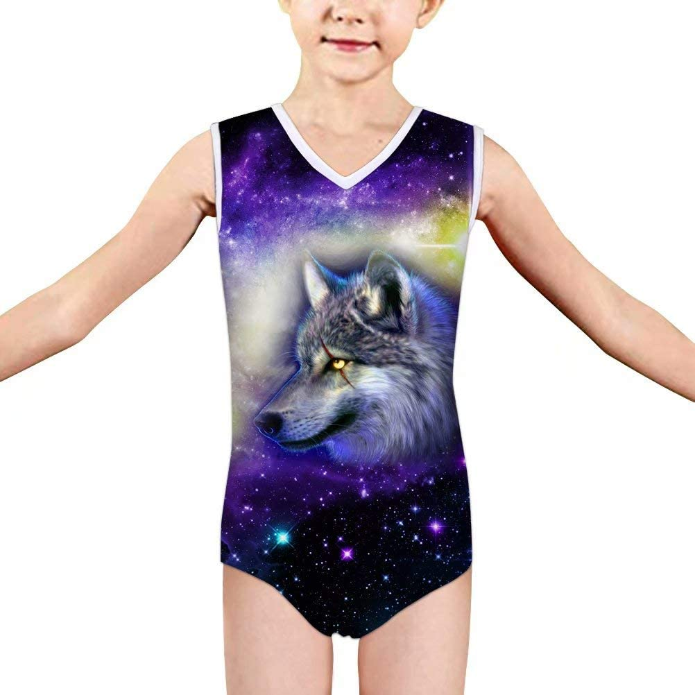FOR U DESIGNS Little Girls One Piece Swimsuits Quick Dry Beach Swimwear Bathing Suit