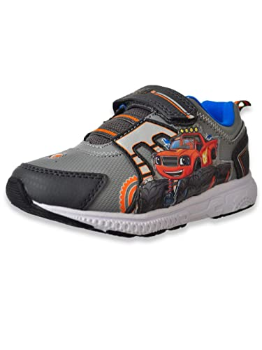 Josmo Kids Boys Blaze Sneaker Grey 11 Little Kid Toddler//Little Kid