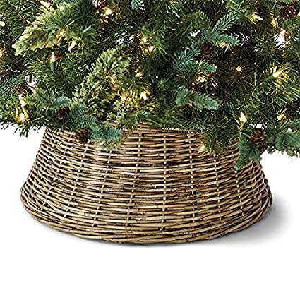 Christmas Tree Stands.Orvis Christmas Tree Stand Cover Natural