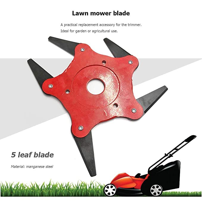 Garden Tools 3t/ 5t/ 6t Garden Lawn Mower Blade Manganese Steel Grass Trimmer Brush Cutter Head