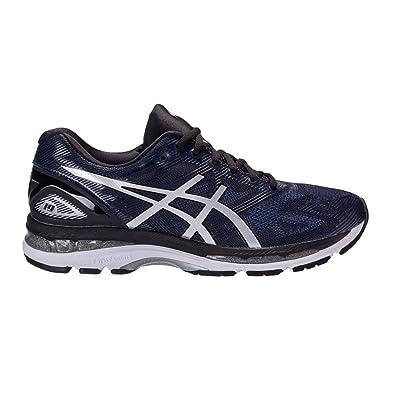 ASICS Men's Gel Nimbus 19 Running Shoe PeacoatSilverBlack, 11 D(M) US