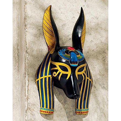 Design Toscano Mask of Ancient Egyptian Gods Anubis ()