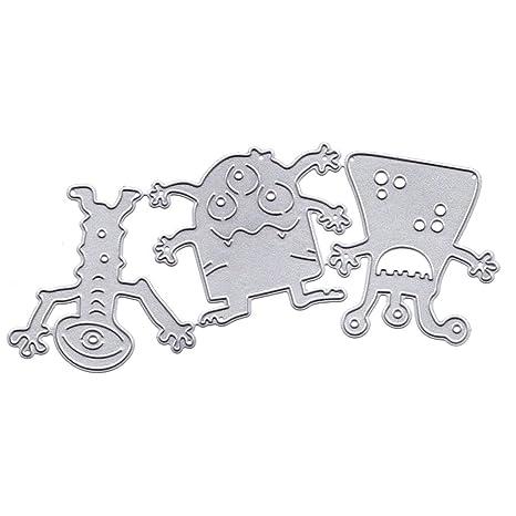 DIY Scrapbooking Metall Stanzformen Schablone Karten Album Papierprägung Handwer