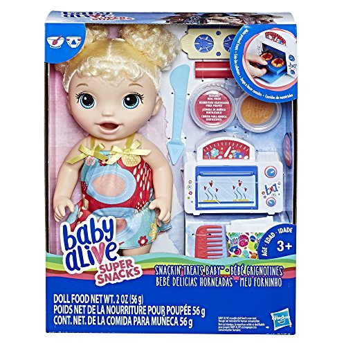 Baby Alive Snackin' Treats Baby (Blonde Curly Hair) JungleDealsBlog.com