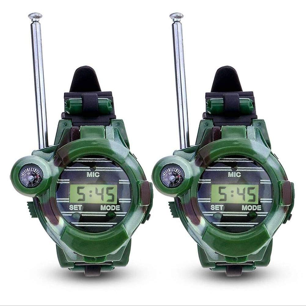 Watch Walkie Talkies, Walkie Talkie for Kids Two-Way Long Range Watch Radio Transceiver 7 in 1 Electronic Outdoor Interphone,Four by TTOP (Image #3)