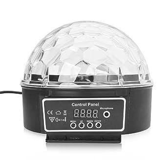 Excelvan - Mini proyector de luz de 6 LED para escenario ...