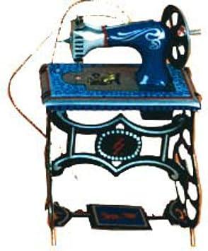 Juguete Infantil Decorativo de Hojalata Mini Maquina DE Coser ...