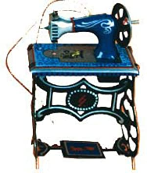 Infantil De Mini Coser Maquina Decorativo Juguete Hojalata 35jRL4A