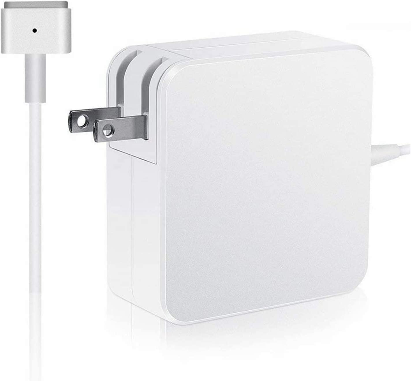 Mac Book Air Charger, 45w T-Type(45T) Replacement Power Adapter for Mac Book Air 11-inch & 13 inch(White)