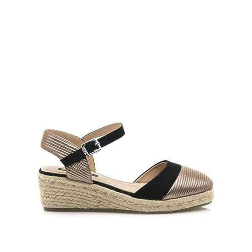 es Amazon Mustang Sandalia Plomo 57607 Complementos Zapatos Y IxwURU