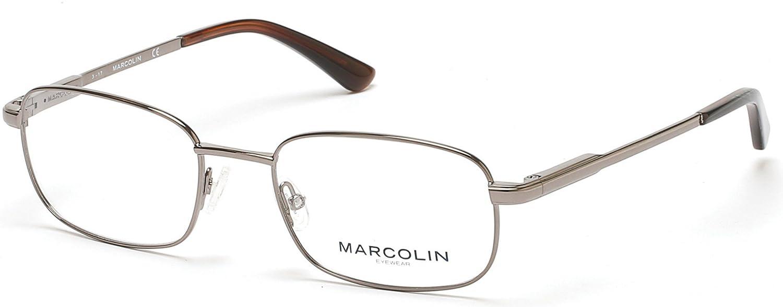 Eyeglasses Marcolin MA 3003 008 shiny gumetal