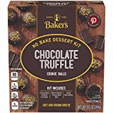 Baker's Chocolate Truffle Cookie Balls No Bake Dessert Kit, 8.6 oz