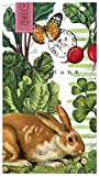 Michel Design Works 15-Count 3-Ply Paper Hostess Napkin, Garden Bunny