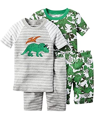 Carter's 4 Pc Cotton, Print, 24 Months